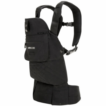Lillebaby EveryWear Style Carrier in Black with Black Lining