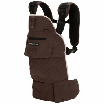 Lillebaby EveryWear Style Carrier in Chocolate with Cream Lining