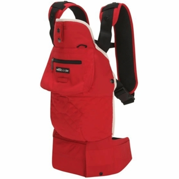 Lillebaby EveryWear Style Carrier in Red with Cream Lining
