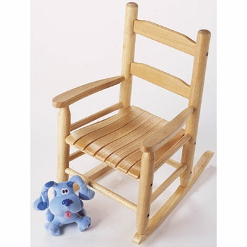 Lipper International Child's Rocking Chair in Natural