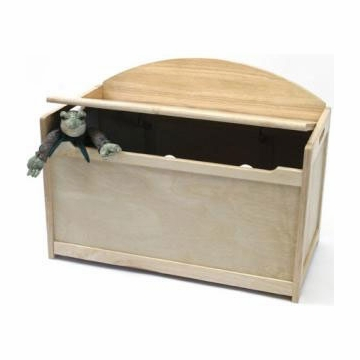 Lipper International Child's Toy Chest in Natural