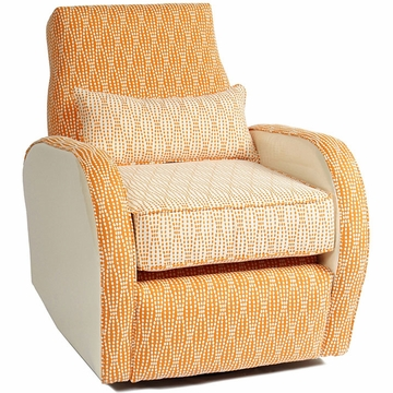 Little Castle Allure Recliner with Piping