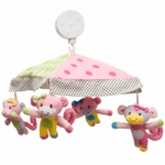 Little Miss Matched Monkey Musical Mobile