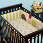 Little Miss Silly Safari 5 Piece Crib Bedding Set