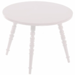 Little Nest Catherine Round Child Table in White