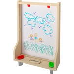 Little Partners Art Easel � Natural