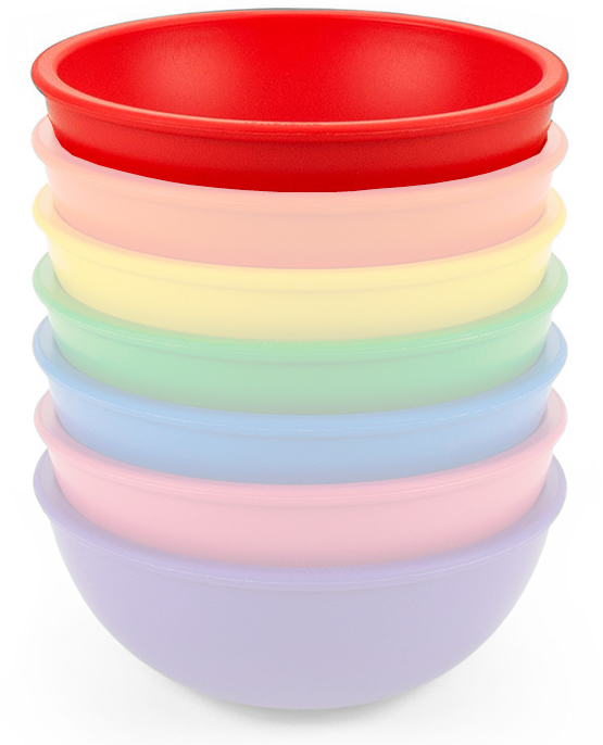 Lollaland Mealtime Bowl - Bold Red