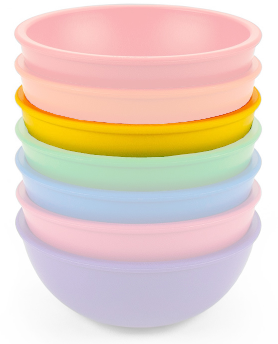 Lollaland Mealtime Bowl - Chirpy Yellow