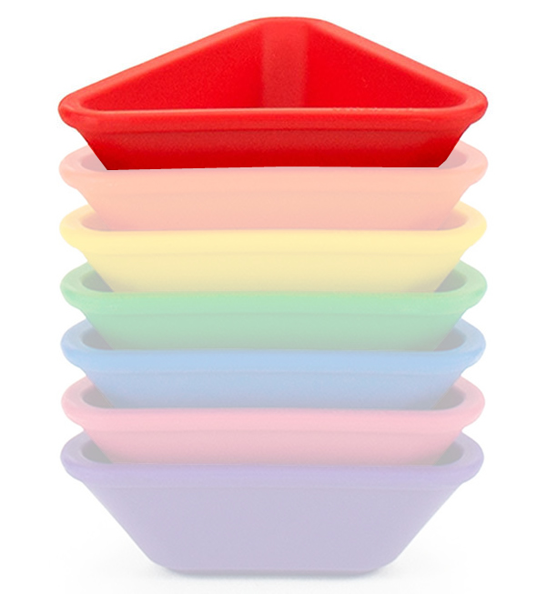 Lollaland Mealtime Dipping Cup - Bold Red