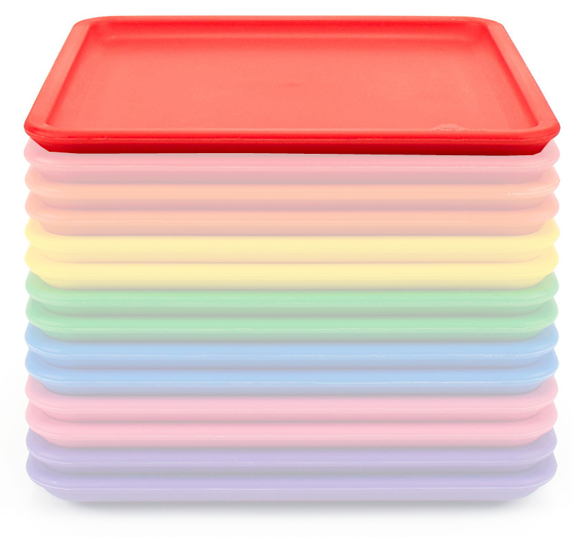 Lollaland Mealtime Plate - Bold Red