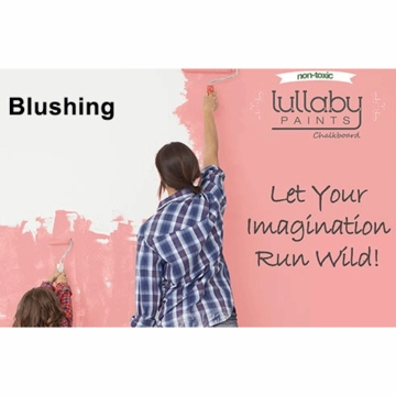 Lullaby Paints Chalkboard Paint - Blushing (Gallon)