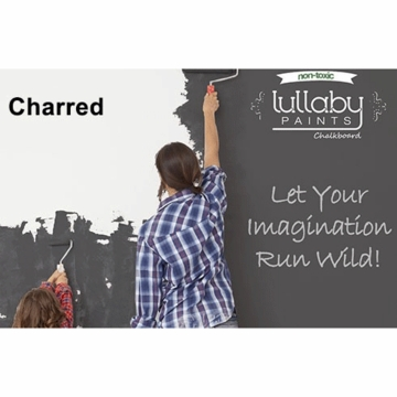 Lullaby Paints Chalkboard Paint - Charred (Quart)
