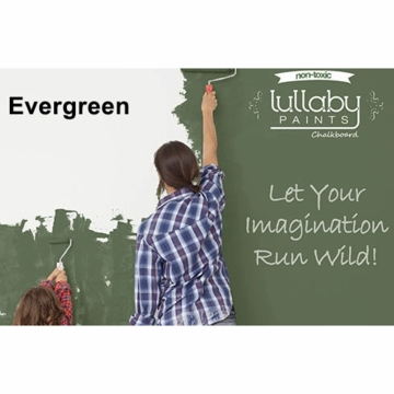Lullaby Paints Chalkboard Paint - Evergreen (Gallon)