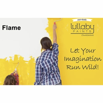 Lullaby Paints Chalkboard Paint - Flame (Quart)