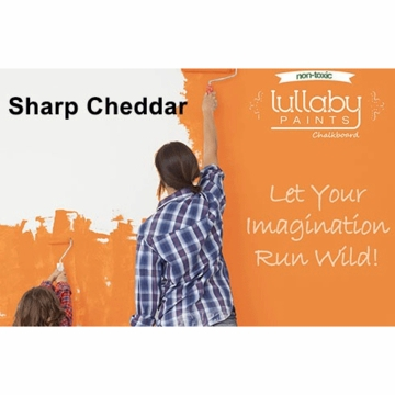 Lullaby Paints Chalkboard Paint - Sharp Cheddar (Quart)