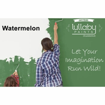 Lullaby Paints Chalkboard Paint - Watermelon (Quart)