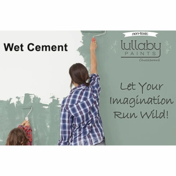 Lullaby Paints Chalkboard Paint - Wet Cement (Gallon)