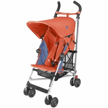 Maclaren Globetrotter Stroller - Orange/Blue