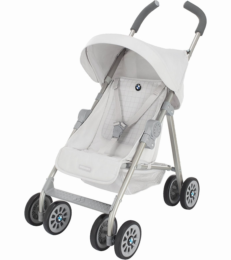 Maclaren Junior BMW Doll Stroller - Silver