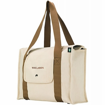 Maclaren Park Bag - Natural Canvas