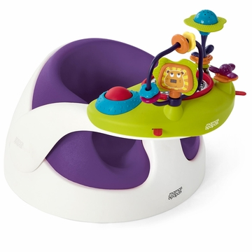 Mamas & Papas Baby Snug & Activity Tray - Plum