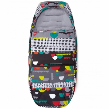 Mamas & Papas Cold Weather Footmuff - Fairground Red