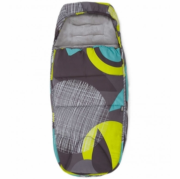 Mamas & Papas Cold Weather Footmuff - Target Lime
