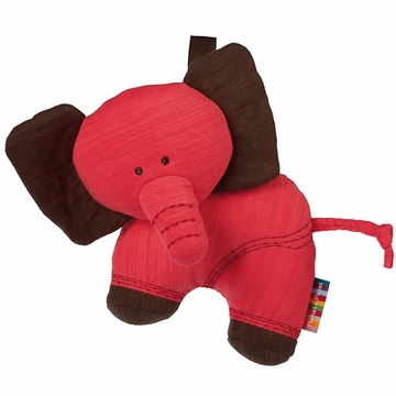 Mamas & Papas The Jumbles Soft Travel Toy - Pink Elephant