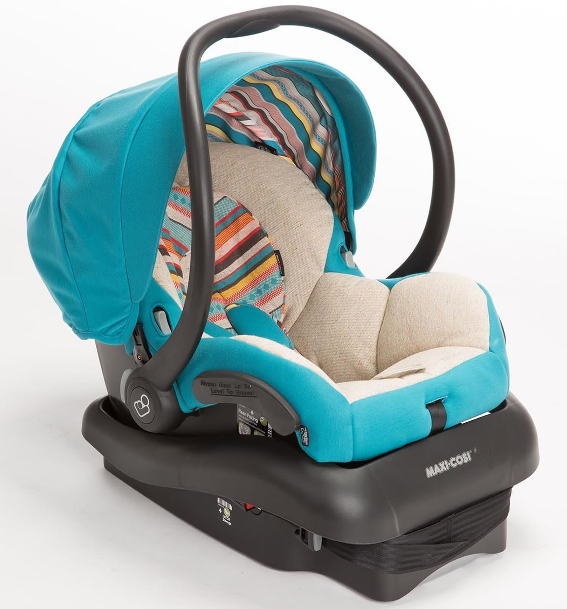 Maxi Cosi Mico Ap Infant Car Seat Installation Video