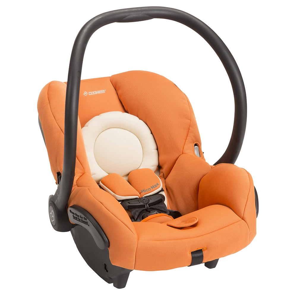 Orange Car Seat Canopy Maxi Cosi Mico Max 30 Infant Car