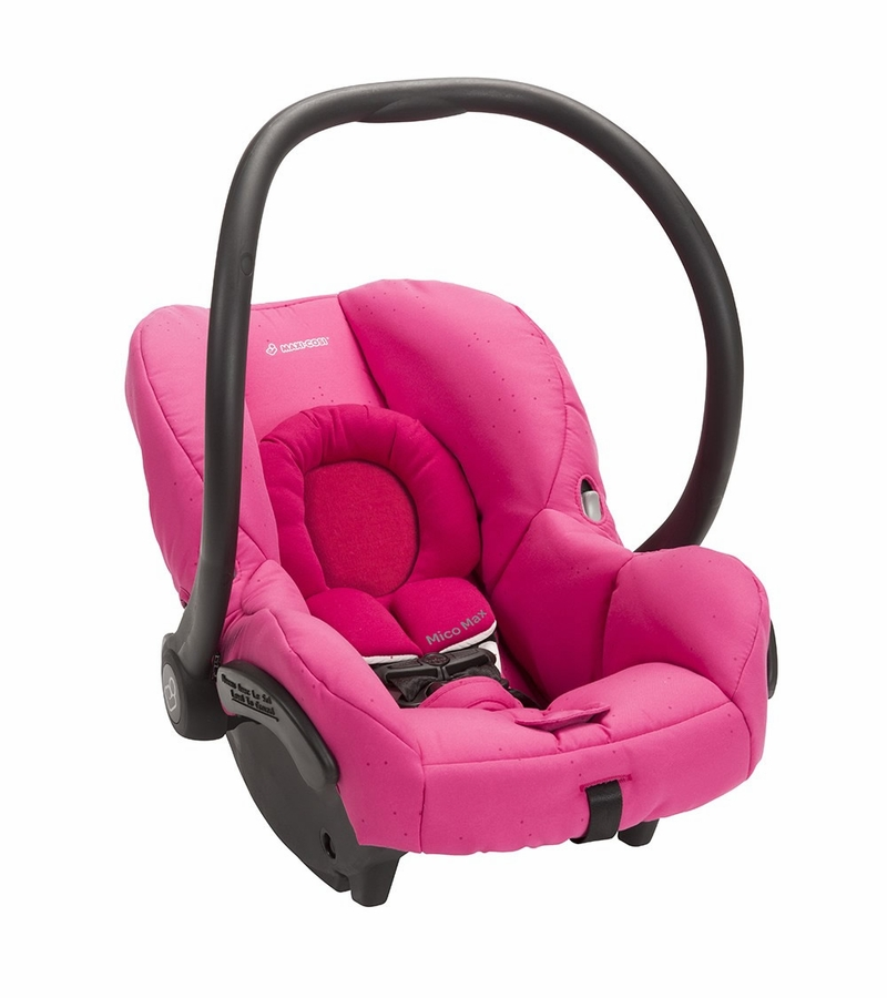 Maxi Cosi Mico Max Infant Car Seat Pink Berry