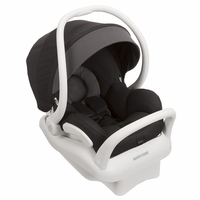 Maxi Cosi Mico Max 30 Infant Car Seat, White Collection - Devoted Black