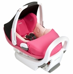 Maxi Cosi Prezi Infant Car Seat - White Base - Passionate Pink