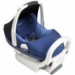 Maxi Cosi Prezi Infant Car Seat - White Base - Reliant Blue