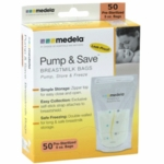 Medela Pump & Save Breastmilk Storage Bags 50 Pack