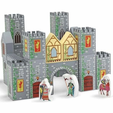 Melissa & Doug Castle Blocks Wooden Play Set