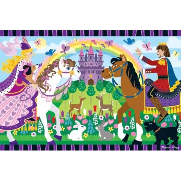 Melissa & Doug Fairytale Friendship Floor Puzzle 24 Pieces