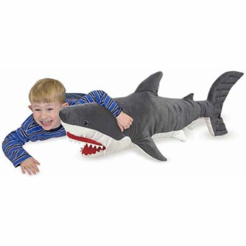 Melissa & Doug Giant Stuffed Animal - Shark