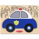 Melissa & Doug My First Chunky Puzzle Police Car