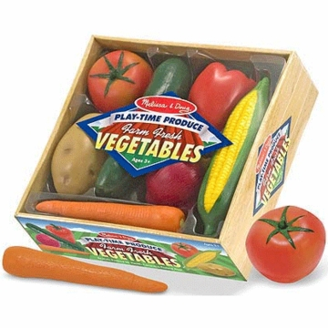 Melissa & Doug Playtime Produce Vegetables