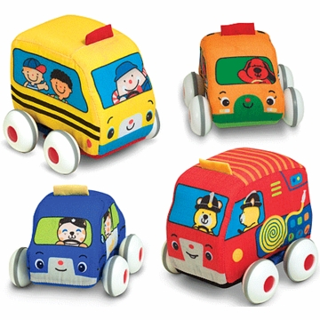 Melissa & Doug Pull Back Vehicles