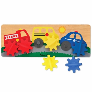 Melissa & Doug Spinning Wheels Gear Toy