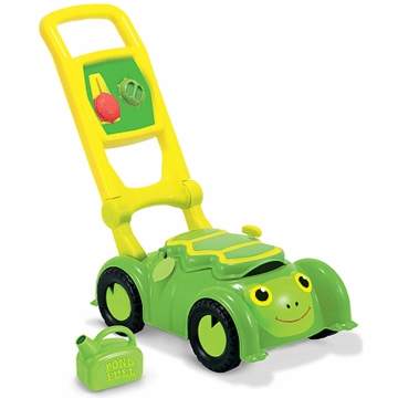 Melissa & Doug Tootle Turtle Lawn Mower Toy
