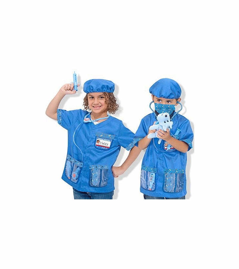 Melissa Amp Doug Veterinarian Role Play Costume Set
