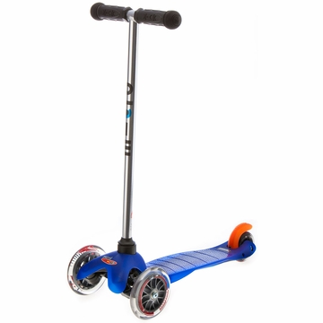 Kickboard USA Mini Micro Scooter in Blue