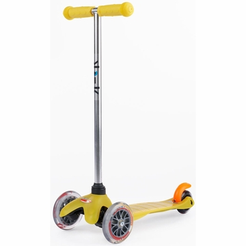 Kickboard USA Mini Micro Scooter in Yellow