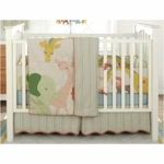 MiGi Circus 3 Piece Crib Bedding Set
