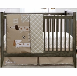 MiGi Puppy Play 3 Piece Crib Set