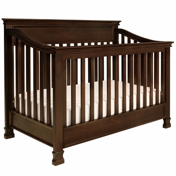 Million Dollar Baby Foothill 4-in-1 Convertible Crib with Toddler Rail - Espresso