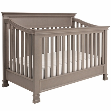 Million Dollar Baby Foothill 4-in-1 Convertible Crib with Toddler Rail - Weathered Grey